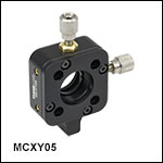 XY Translation Mount, 16 mm Cage Compatible and Post Mountable