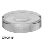 Ø1in Compensation Ring for Crystalline Supermirrors, Ø9 mm Hole