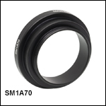 Thread Adapter for SL50-CLS2, SL50-2P2, or SL50-3P Scan Lenses