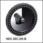 Mounted Round Variable ND Filters, AR Coated:650 - 1050 nm