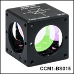 Cube-Mounted, Non-Polarizing, 50:50 Beamsplitter Cubes