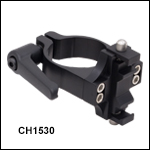 Ø1.5in Horizontal Post-Mounting Cage System Clamps