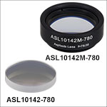 High-Precision, CNC Polished Aspheric Lenses, 780 nm V Coating