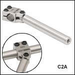 ER Rod Swivel Coupler for 30 mm and 60 mm Cage Systems