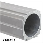 XT66 66 mm Construction Rail, Raw Extrusion