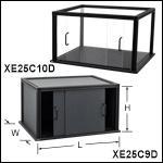 Enclosures with Door Assemblies