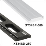 XT34 34 mm Single Dovetail Rails