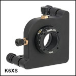 6-Axis Kinematic Optic Mount