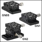 Goniometers: Small Platform