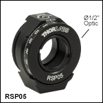 Continuous Rotation Mount for Ø1/2in Optics