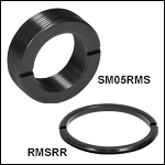 RMS Retaining Rings and Adapters