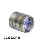 Laser to High NA Fiber Coupling Pair