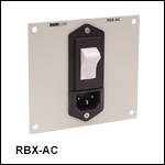 AC Power Entry Module Panel
