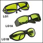 Laser Safety Glasses: 59% Visible Light Transmission