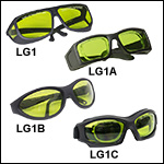 Laser Safety Glasses: 59% Visible Light Transmission