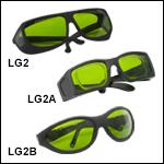 Laser Safety Glasses: 19% Visible Light Transmission