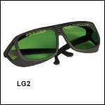 LG2 Green Lens: 19% Visible Light Transmission