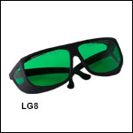 LG8 Green Lens: 35% Visible Light Transmission