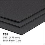 Black Construction Hardboard