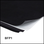 Black Flocked Self-Adhesive Paper