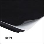 Black Flocked Self-Adhesive Paper