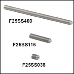 1/4in-80 Fine Hex Adjusters