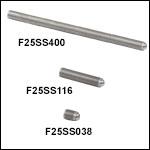 1/4in-80 Fine Hex Adjusters