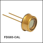 Ge Photodiode with NIST Traceable Calibration