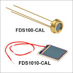 Si Photodiodes with NIST Traceable Calibration