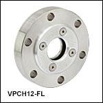 High-Vacuum CF Flange for Ø1in Optics
