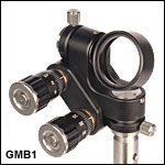 Full Gimbal Mount for Ø1in Optics