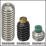 8-32Stainless Steel or Alloy Steel Setscrews