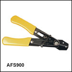 Adjustable Fiber Buffer and Jacket Stripping Tool<br>