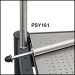 Ø1.5in Stainless Steel Post for ScienceDesk Frames