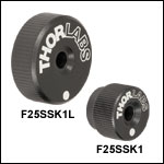 1/4in-80 Removable Adjustment Knobs