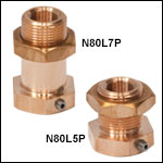 1/4in-80 Locking Bushings with Nut