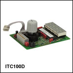 Front and Display for OEM Laser Diode & Temperature Controllers