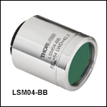 Broadband Scan Lenses for OCT Systems (800 - 1100 nm)