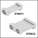 Double Dovetail Clamps for 66 mm Rails