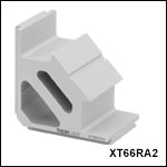 Right-Angle Bracket for 66 mm Rails
