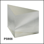 N-BK7 Right-Angle Prisms, Uncoated (350 nm - 2 µm)