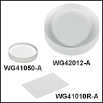 UV Fused Silica Broadband Windows,AR Coated: 350 - 700 nm