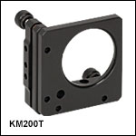 Ø2in Kinematic Mount with SM2 Threads