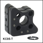 Kinematic Mount for 16 mm Cage Systems, 3 Adjusters