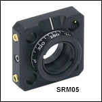 Ø1/2in Rotation Mount for 16 mm Cage System