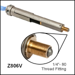 6 mm Travel Vacuum-Compatible DC Servo Motor Actuator