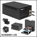 Small Beam Diameter Galvo System Complete Packages