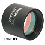 Dispersion Compensators for LSM Series Scan Lenses (800 - 1400 nm)