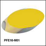 Protected Gold-Coated Elliptical Mirrors