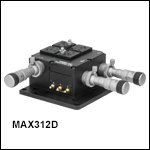 3-Axis NanoMax Stage with Differential Adjusters